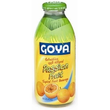 Goya Tropical Passion Fruit Beverage, 16 Ounce
