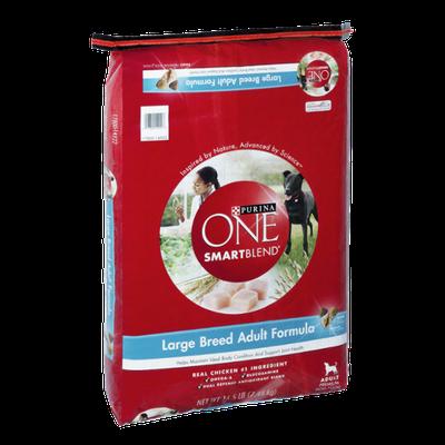 Purina One SmartBlend Large Breed Adult Formula Premium Dog Food