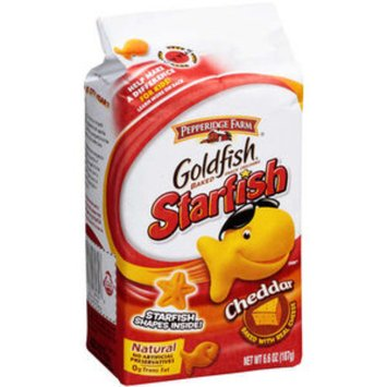 Goldfish Baked Snack Crackers Cheddar Starfish