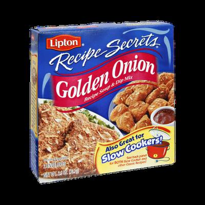 Lipton® Recipe Secrets Golden Onion Recipe Soup & Dip Mix