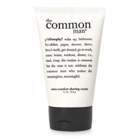 philosophy the common man  extra-comfort shaving cream