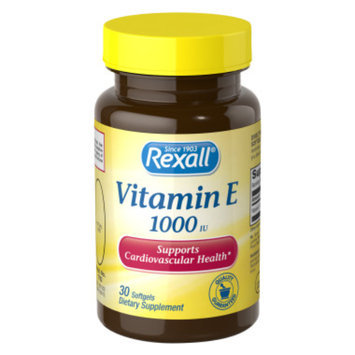 Rexall Vitamin E 1000 iu - Softgels, 30 ct