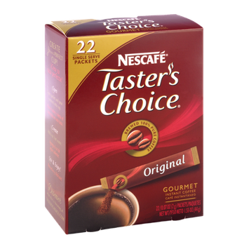 Nescafe Taster's Choice Original Sticks Instant Coffee