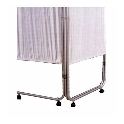 Presco -Webber Corporation Four Panel Privacy Screen with Casters