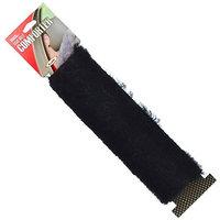 Allison Genuine Sheepskin Seat Belt Comforter - Black