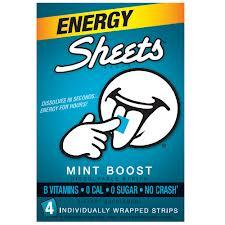 Sheets Energy Strips