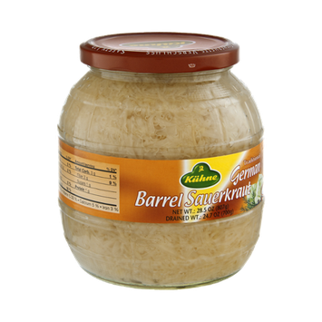 Kuhne Traditional German Barrel Sauerkraut