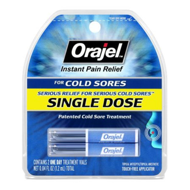 Orajel Single Dose Cold Sore Treatment Reviews 2019