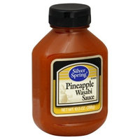 Silver Springs Pineapple Wasabi Sauce Squeeze, 10.5-Ounce (Pack of 9)