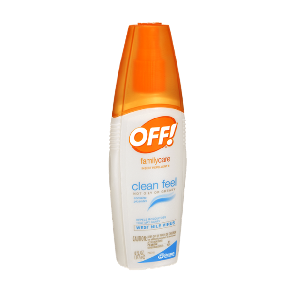 OFF! FamilyCare Clean Feel Insect Repellent II