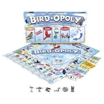 Late for the Sky Productions Late for the Sky BIRD-OPOLY Board Game