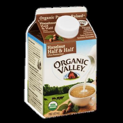 Organic Valley Hazelnut Half & Half
