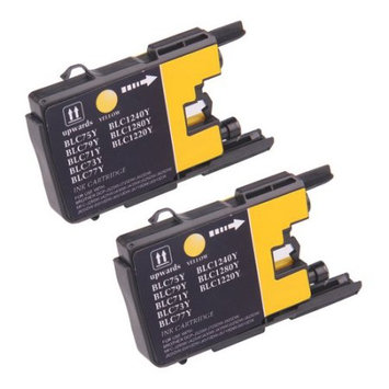 Discountbatt Superb Choice? Compatible ink Cartridge for Brother LC75Y(Pack of 2 Yellow) use in Brother MFC-J6710DW Printer