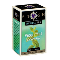 Stash Herbal Tea Peppermint Caffeine Free Tea Bags - 20 CT