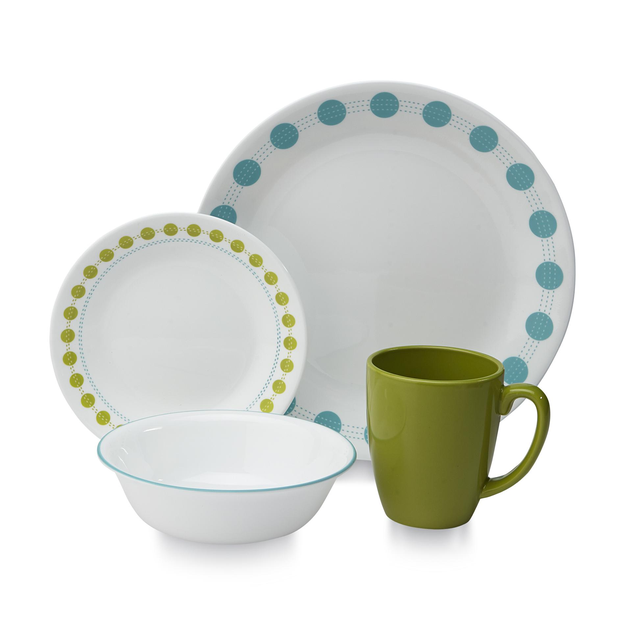 Corelle 16 Piece Dinnerware Set South Beach - WORLD KITCHEN, INC.