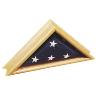 Annin Deluxe Oak Case for Flags- 24