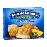 Van de Kamp's Fillets Beer Battered - 10 CT