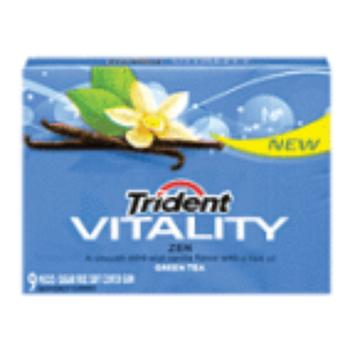 Trident Vitality Gum Vitality Zen Singles