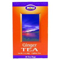 Now Foods, Ginger Tea 30 Tea Bags