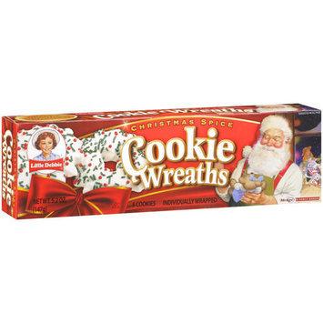Little Debbie Snacks Wreath Cookies, 8ct