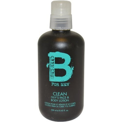 TIGI Bed Head B For Men Clean Guy's Face and Body Lotion Men, 8.45 Ounce