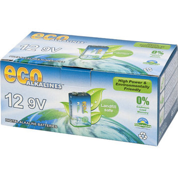Eco Alkaline Eco Responsible Batteries 9 Volt