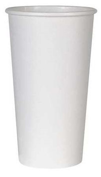 DIXIE 2350WNP Disposable Hot Cup, 20 oz, White, PK600