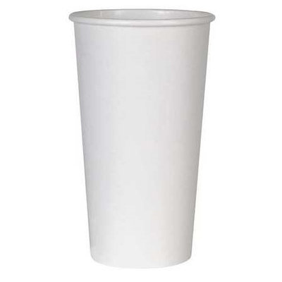 DIXIE 2350WNP Disposable Hot Cup, 20 oz, White, PK600