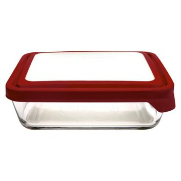 Anchor Hocking 11 Cup Glass Food Storage Container with Lid - Clear