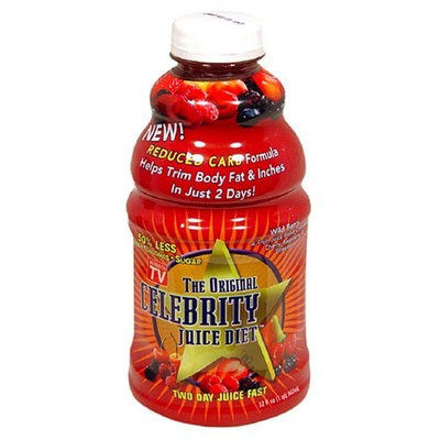 Hollywood Celebrity Diet The Original Celebrity Diet Reduced Carb Two-Day Juice Fast, Wild Berry, 32-Ounce Bottles (Pack of 2)