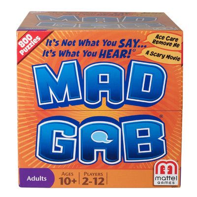 Mattel Mad Gab Game - MATTEL, INC.