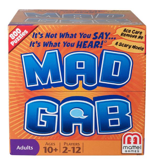 Mattel Mad Gab Game - MATTEL, INC.