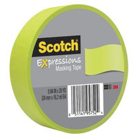 Scotch Washi Masking Tape Green 20yds