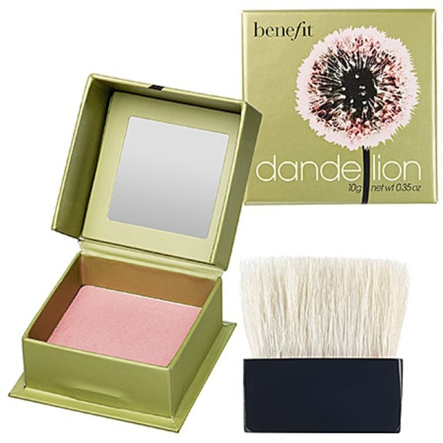 benefit cosmetics dandelion box o 39 powder blush reviews find the best blush influenster. Black Bedroom Furniture Sets. Home Design Ideas