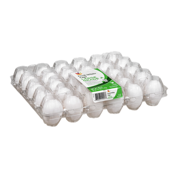 Ahold Fresh White Eggs Grade A Large - 30 CT