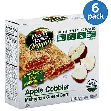 Health Valley Organic Apple Cobbler Multigrain Cereal Bars