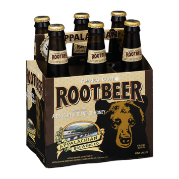 Appalachian Brewing Co. American Craft Root Beer - 6 PK