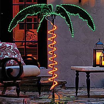 Roman 4.5-feet Ropelight Palm Tree