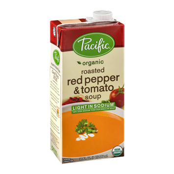 Pacific Organic Light Sodium Roasted Red Pepper & Tomato Soup