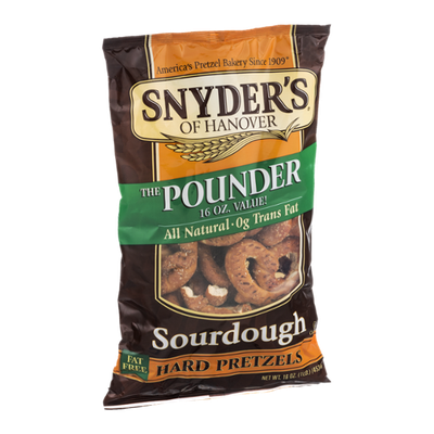 Snyder's Of Hanover Pretzels Sourdough Pretzels
