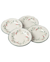 Pfaltzgraff Set of 4 Winterberry Salad Plates