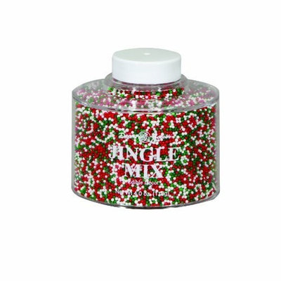 Dean Jacob's Dean Jacobs Jingle Mix Stacking Jar, 4.0-Ounce (Pack of 6)