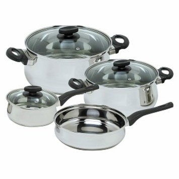 Magefesa Deliss Stainless Steel Cookware Set, 7 Pc, 1 ea