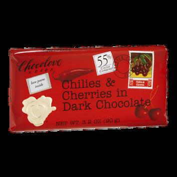 Chocolove Chilies & Cherries in Dark Chocolate