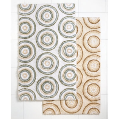 Ultra Spa by Park B. Smith Bath Rug, Circles 20