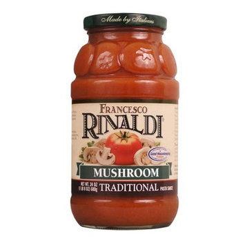Francesco Rinaldi Mushroom Traditional Pasta Sauce 24 oz (Pack of 12)