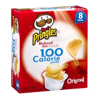 Pringles® Reduced Fat 100 Calorie Potato Crisp Packs Original