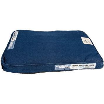 Happy Tails Denim Wash Dog Bed Color: Denim Blue