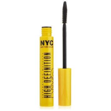 N.Y.C. York Color Mascara High Definition Separating Mascara, Extreme Black, 0.27 Fluid Ounce