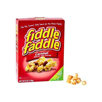 Fiddle Faddle Caramel Popcorn With Peanuts, 6 Oz (Pack of 2)
